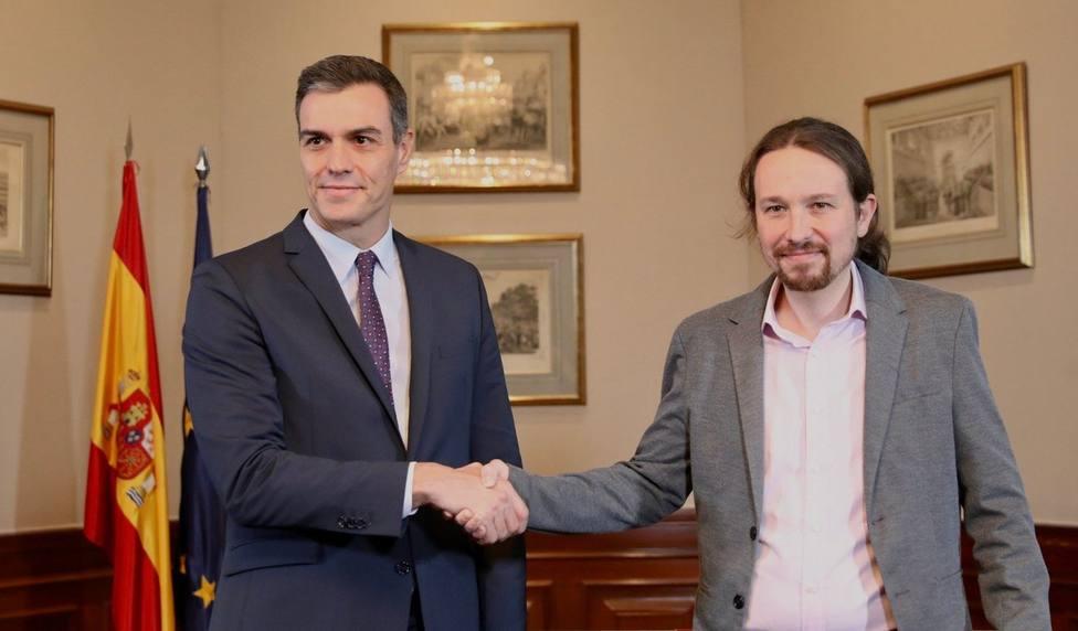 PSOE y Unidas Podemos se reúnen este jueves para analizar el desarrollo de la coalición por primera vez