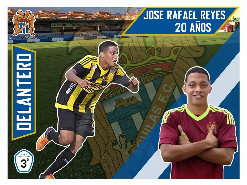 José Rafael Reyes, poder venezolano para el ataque aguileño