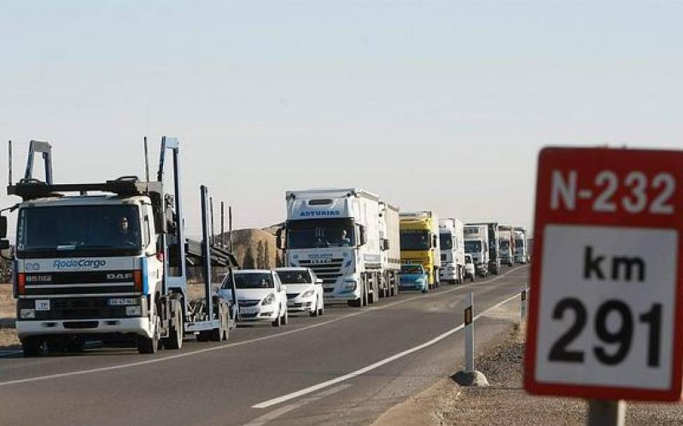 Nuevo accidente mortal en la carretera N-232 a la altura del término municipal de Alfaro
