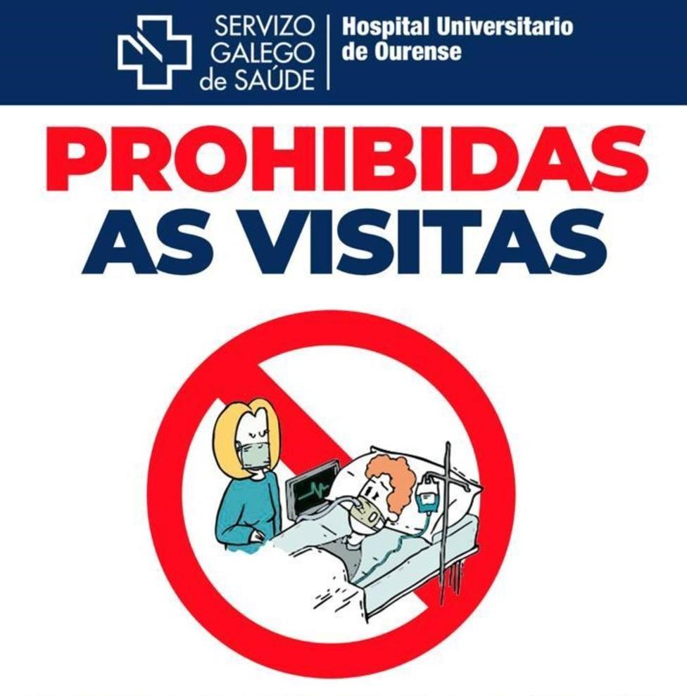 Prohibidas visitas