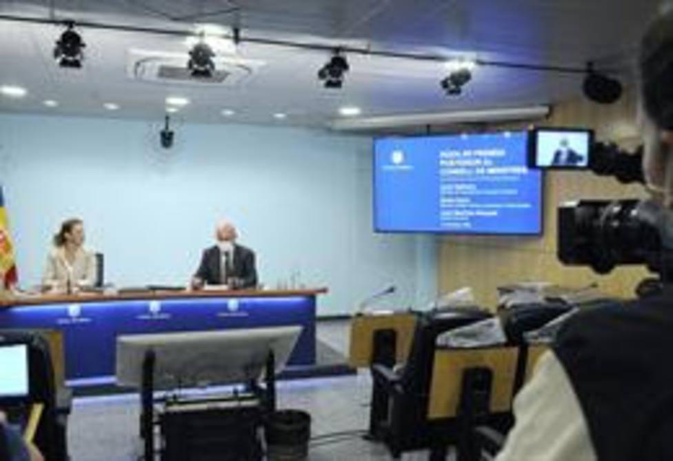 Consejo de ministros de Andorra
