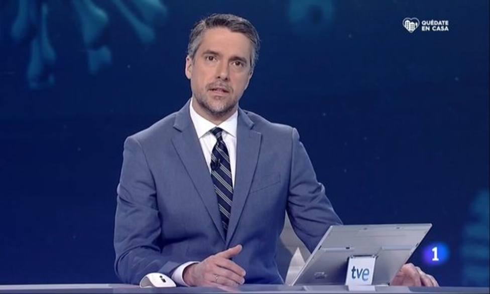 El motivo por el que Carlos Franganillo no ha presentado el telediario de TVE