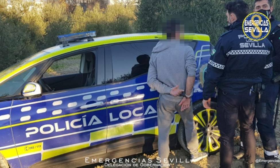 Una persecución de infarto por la provincia de Sevilla se prolonga durante casi cincuenta kilómetros