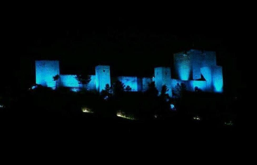 El Castillo de Santa Catalina se iluminará de azul por el Día Internacional del Síndrome de Asperger