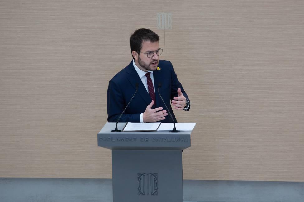 Fracasa la investidura de Pere Aragonès en la primera votación tras la abstención de JxCat