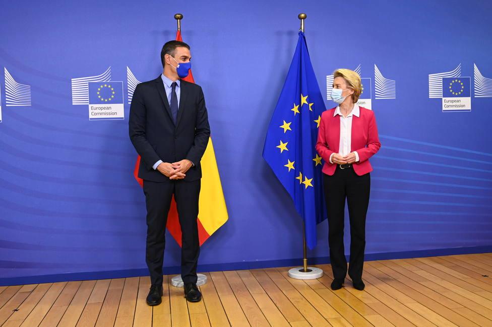 España presenta de manera formal su plan de recuperación en Bruselas
