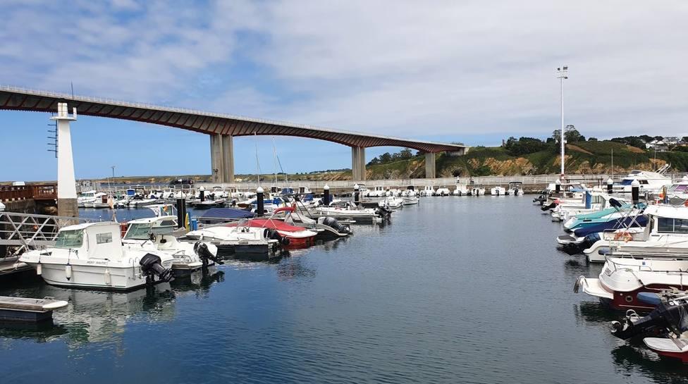 El Puente de los Santos conecta Galicia y Asturias, a través de Ribadeo y Castropol