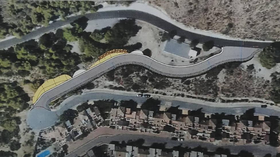Comienza el expediente para expropiar los terrenos para el vial de acceso a Cármenes del Mar en Almuñécar