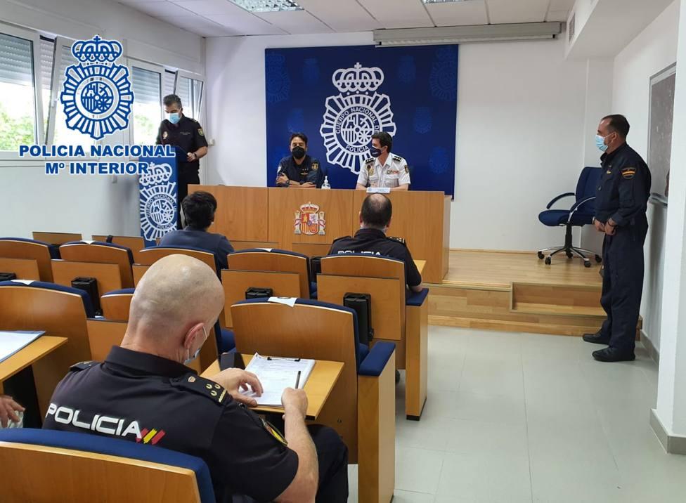 La Policía Nacional en Córdoba realiza unas Jornadas Formativas sobre el uso de drones