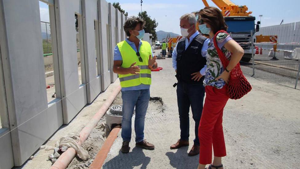 Reconocimiento al sistema de prefabricados de los pabellones de transitarios del Puerto de Motril