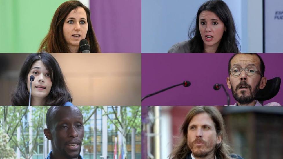 Belarra ya tiene su cúpula para liderar Podemos: Montero, Echenique, Mbayé, Serra y Pablo Fernández