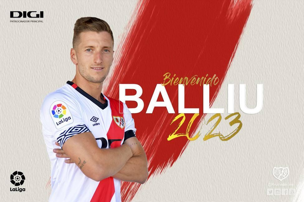 Balliu, nuevo jugador del Rayo