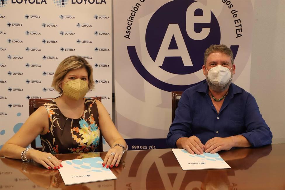 Loyola y la Asociación de antiguos alumnos de ETEA firman un convenio de colaboración