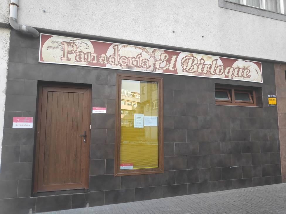 Panadería en la que trabajaba Mónica