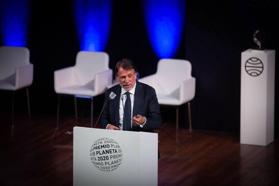 Ceremonia de entrega del Premio Planeta 2020