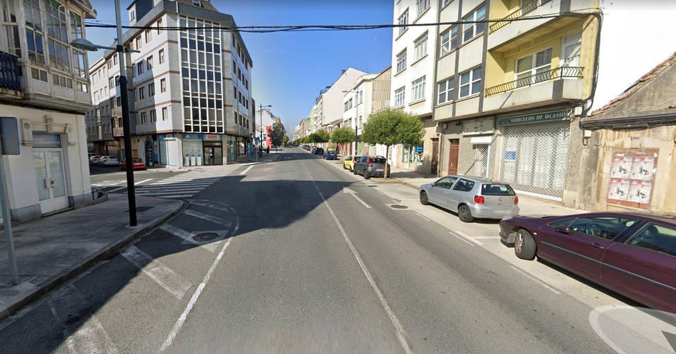 Zona de la carretera de Castilla en donde se produjo el atropello