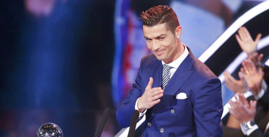 Cristiano Ronaldo, mejor jugador del 2016 por la FIFA (Reuters)