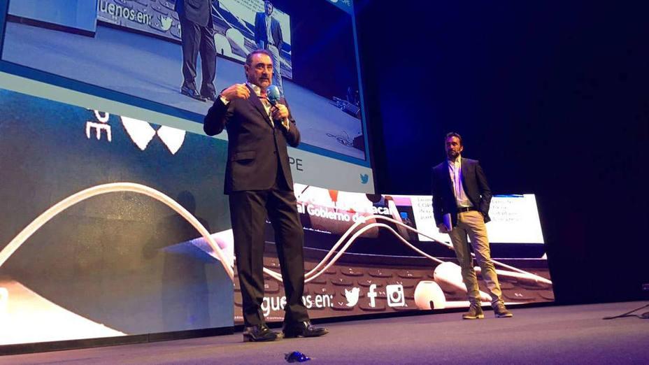 Carlos Herrera en la presentación de COPE