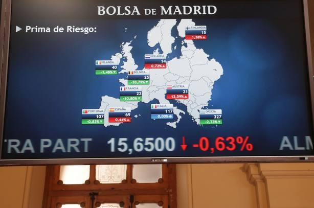 La prima de riesgo española abre al alza, en 70 puntos básicos