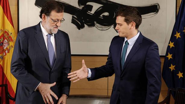 Rajoy Rivera Congreso