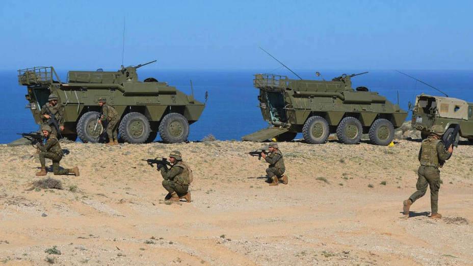 Dos soldados muertos en un accidente en el campo de tiro de Pájara