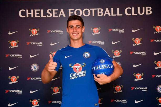 Kepa ocupará la portería del Chelsea las próximas siete temporadas ... 73fafb239032e