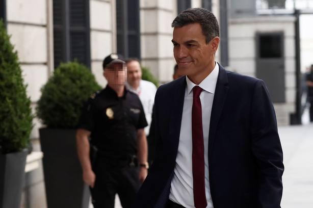 El presidente del Ejecutivo, Pedro Sánchez