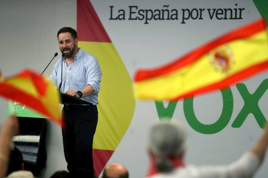 Acto VOX en Barcelona