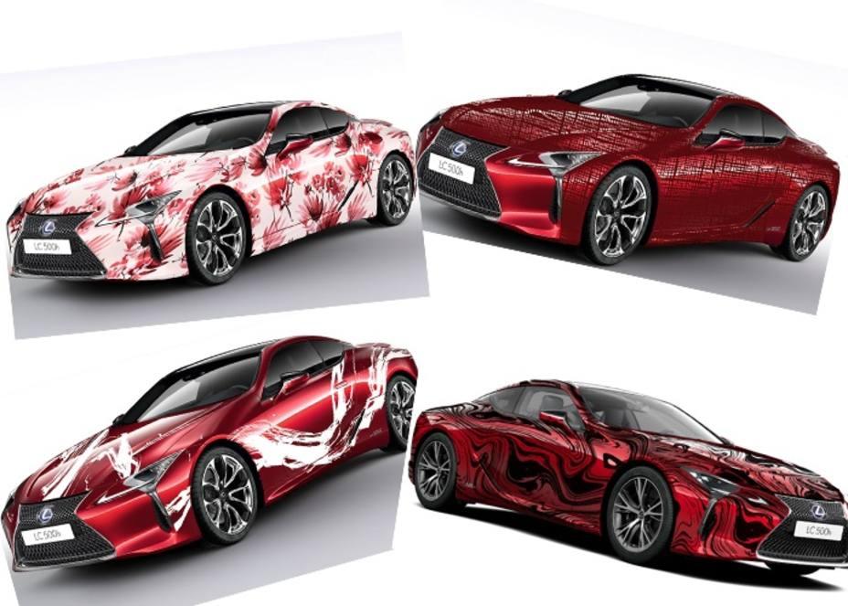 Lexus, la creatividad no conoce límites con el Art Car-LC 500h