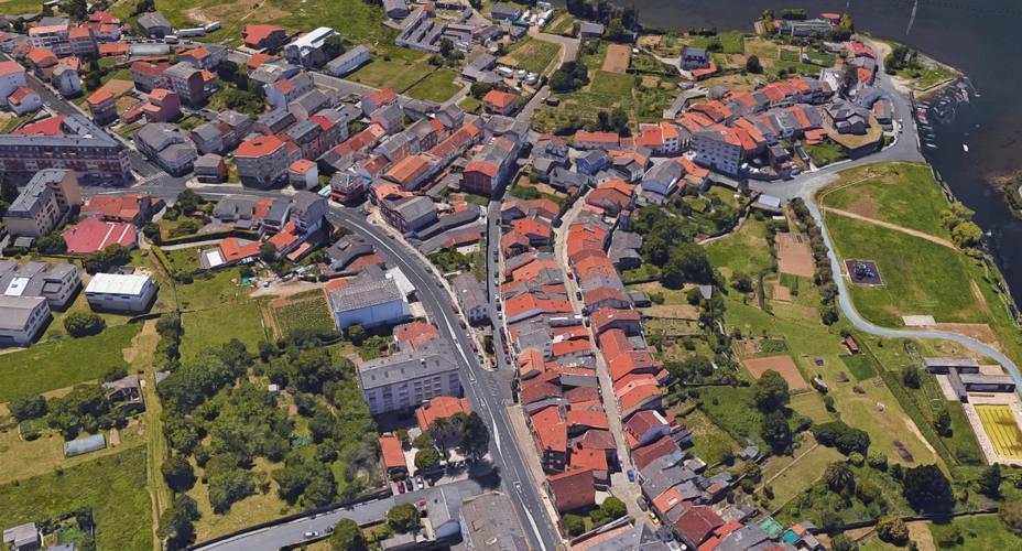 Vista aérea de Neda
