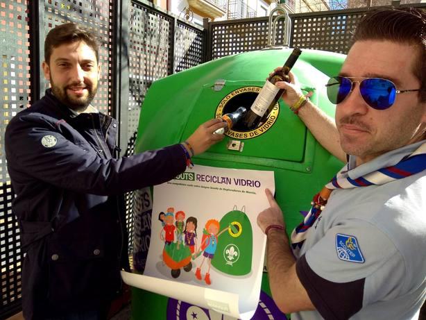 """""""Scouts Reciclan Vidrio"""" nueva campaña para reciclar vidrio"""