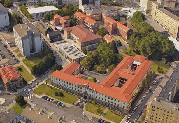 Vista aérea del Campus de Ferrol
