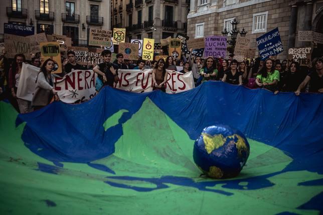 Jóvenes españoles se suman a la huelga internacional por el clima del 15 de marzo con convocatorias en todo el país