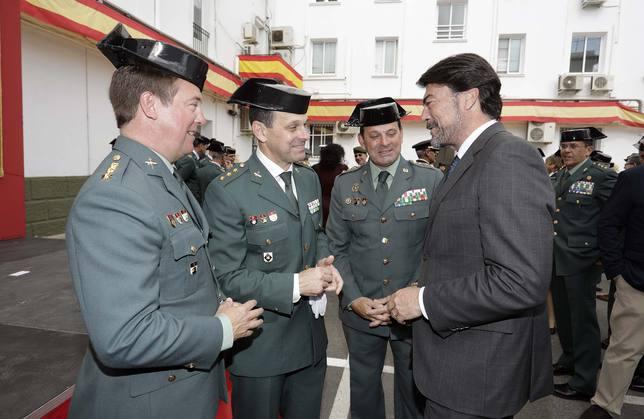 Acto toma posesión de José Hernández Mosquera como nuevo Comandante Jefe de la Guardia Civil (Ayuntamiento)