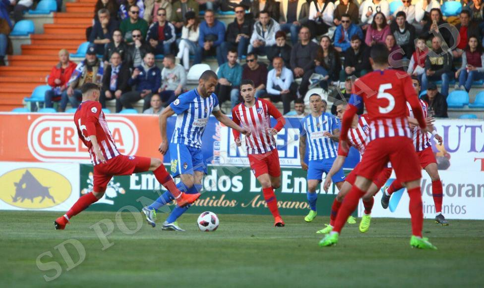 Ponferradina-Atlético de Madrid B