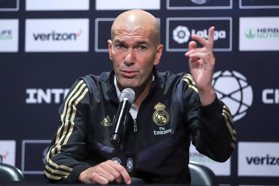 Zidane: No voy a contar nada, puede pasar cualquier cosa en tres semanas