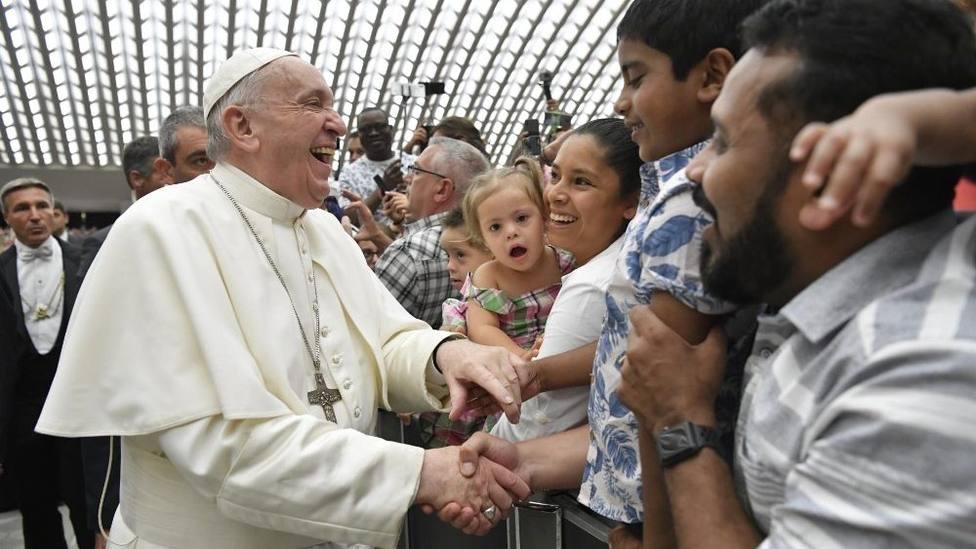 """Catequesis del Papa: """"La comunión se vive venciendo la hipocresía con el amor"""""""
