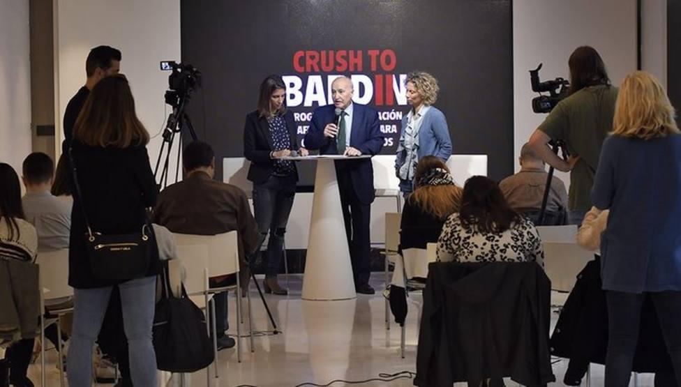 Gorka Martínez, director general de BBK presenta el programa Bardin