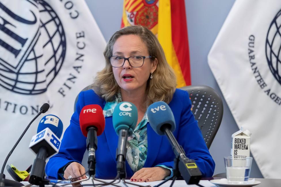 Calviño recalca resistencia de España ante preocupante situación global