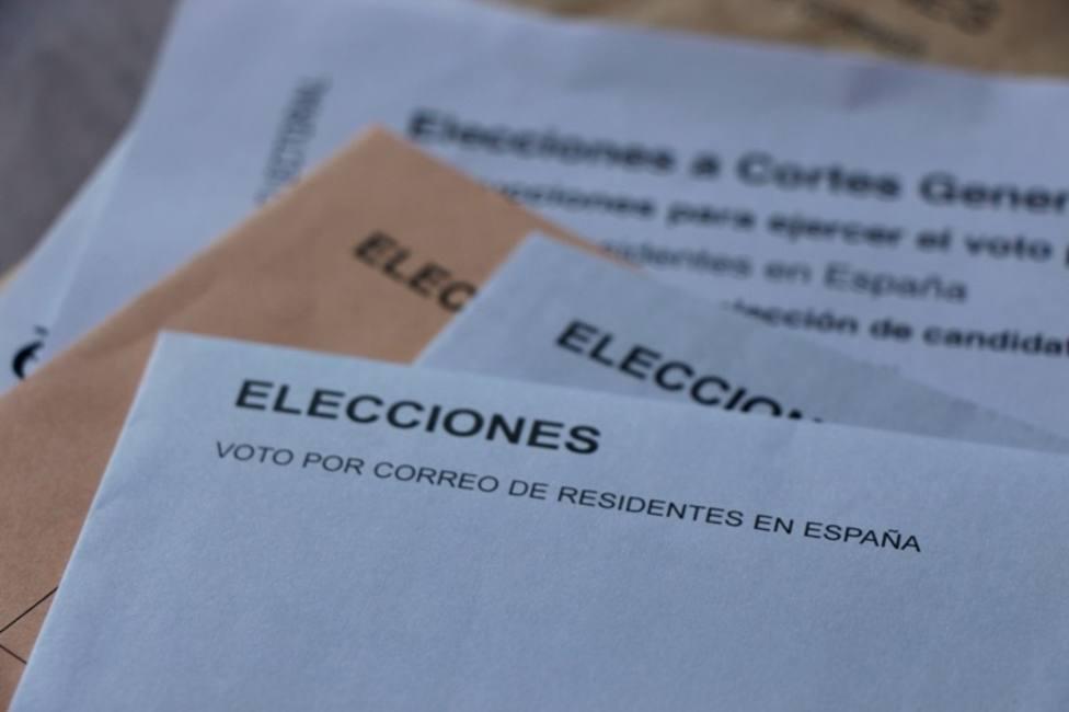 El voto por correo cae un 26,73% en las elecciones del 10N