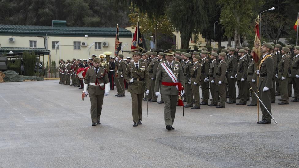 El Regimiento de Artillería 73 celebra la Patrona de los artilleros