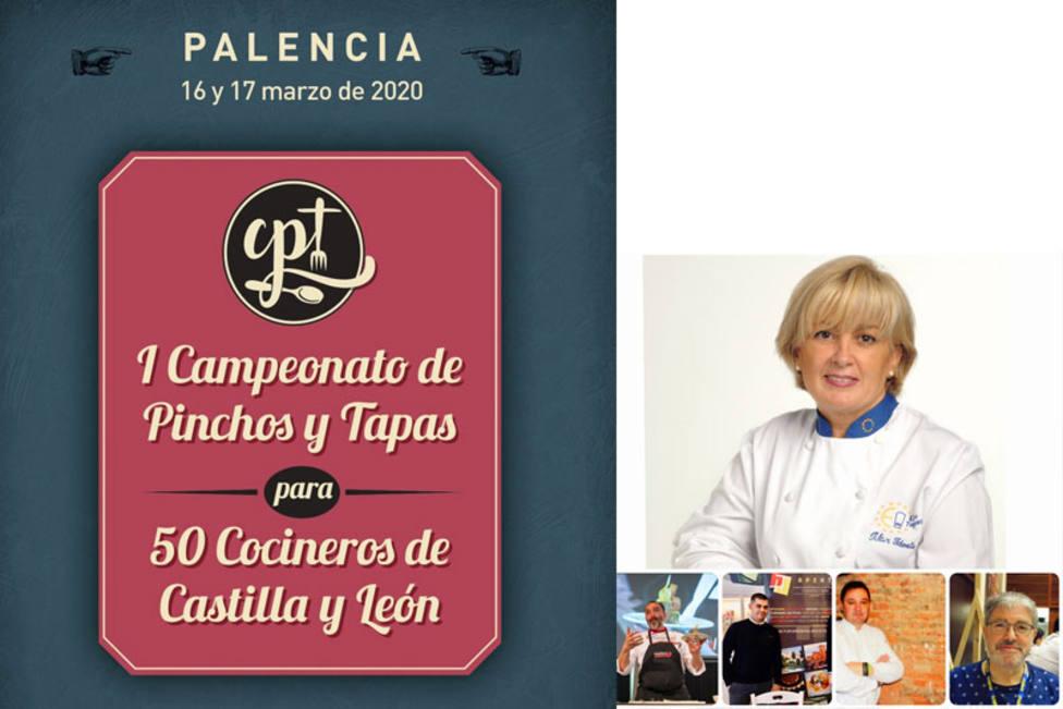Pilar Idoate, estrella Michelin navarra, preside el juradodel I Campeonato de Pinchos y Tapas de CyL
