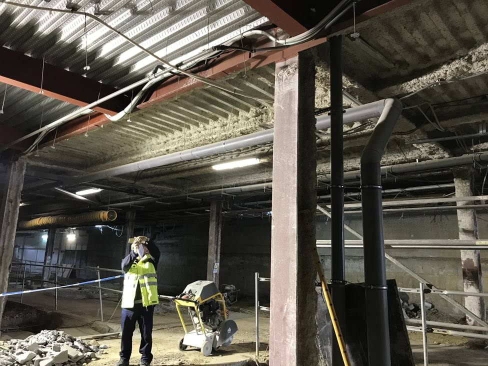 Obras en el Hospital Arquitecto Marcide de la Fase 1 del Plan Director de remodelación del CHUF