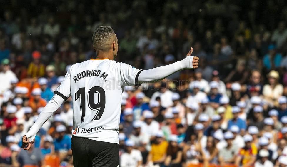 Rodrigo Moreno ha estado seis años en el Valencia CF