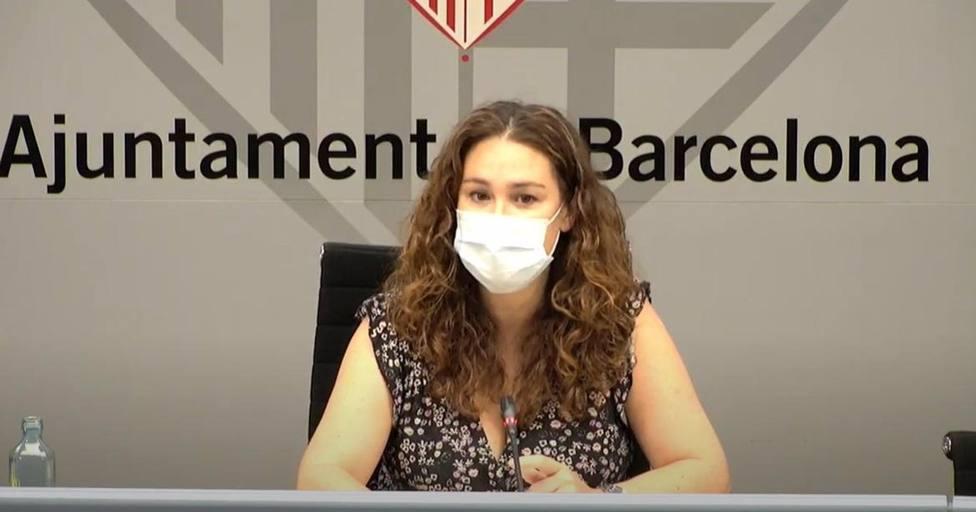 La teniente de alcalde de Derechos Sociales de Barcelona, Laura Pérez