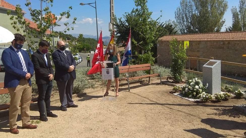 La alcaldesa, Carlota López, pronunció un emotivo discurso de inauguración