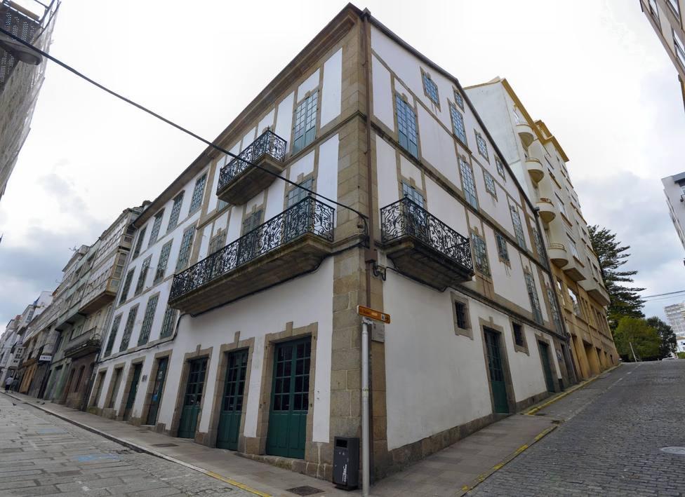 Edificio del Ateneo Ferrolán. FOTO: Xoan Porto