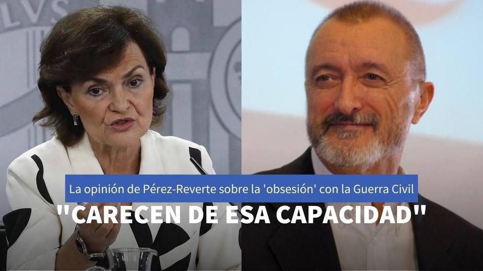 Carmen Calvo y Pérez-Reverte