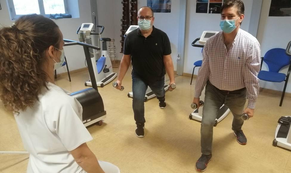 Este es el entrenamiento cardíaco para pacientes de alto riesgo frente al Covid-19