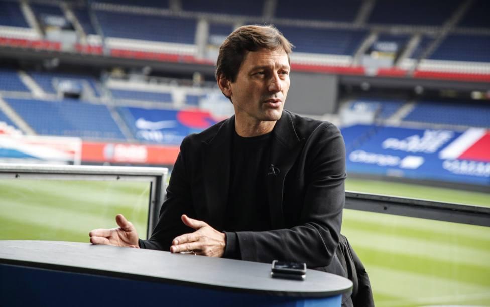 Leonardo, director deportivo del PSG, sobre la renovación de Mbappé: Hemos empezado las negociaciones
